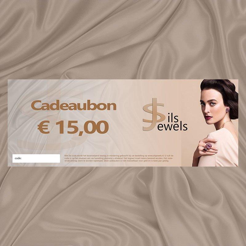Sieraden cadeaubon €15