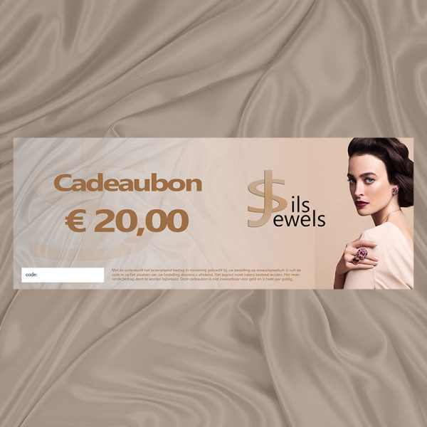 Sieraden cadeaubon €20