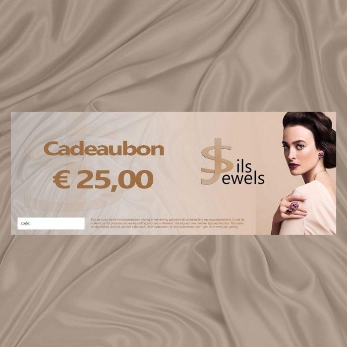 Sieraden cadeaubon €25