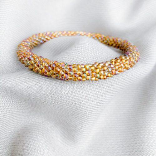 Multi miyuki armband